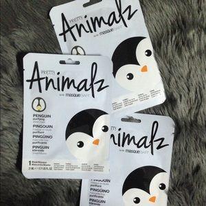 Animalz Penguin Purifying Sheet Mask